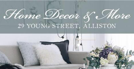 Alliston Home Decor and more partner in the 12 days of giveaways with Alliston's house SOLD name in real Estate-The Mortimer Team Real Estate Group